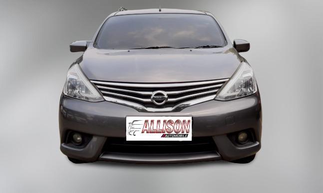 Nissan New Grand Livina 1.5 XV AT 2013 Abu Abu Dp 17,9 Jt No Pol Ganjil