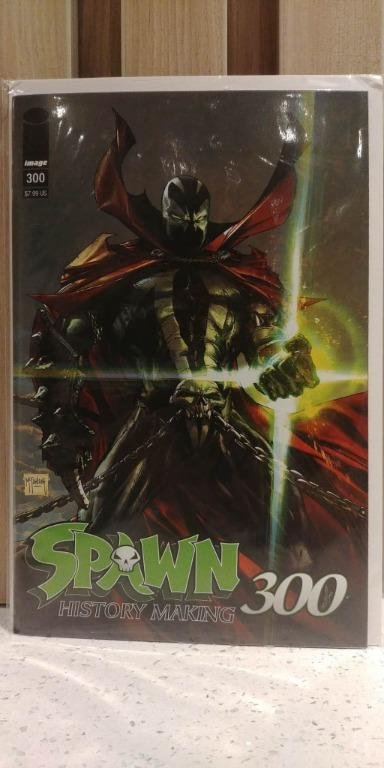 Spawn (1992) # 300A 1st cameo appearance of She-Spawn, final page, The Redeemer becomes The Reaper