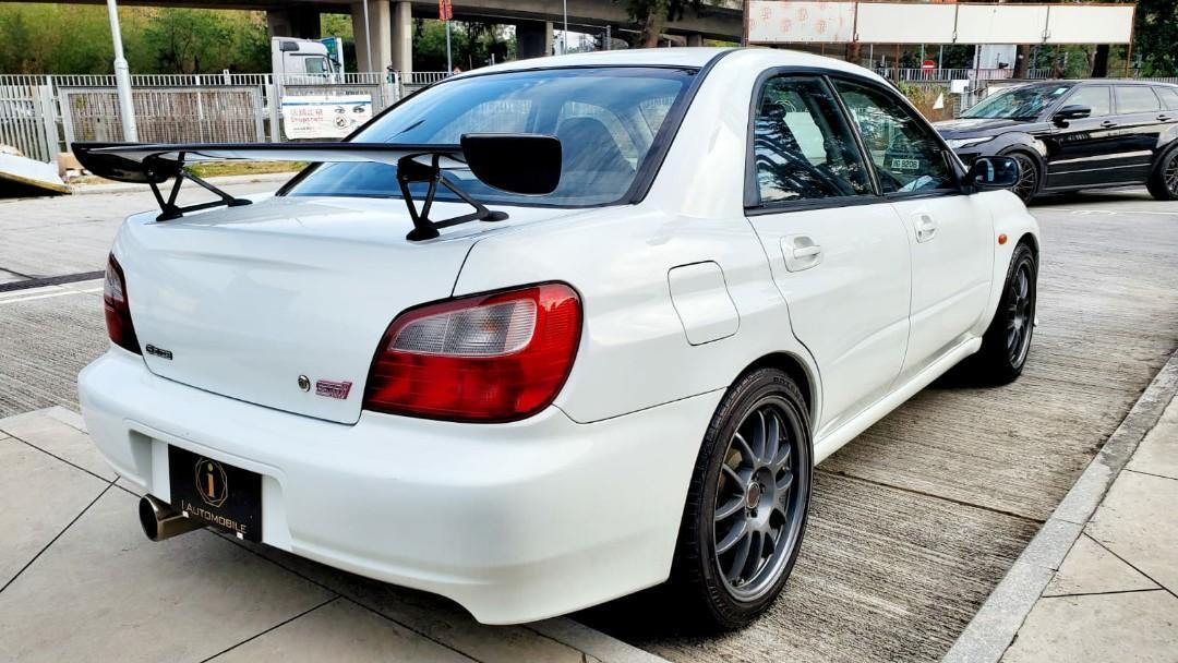 Subaru Impreza WRX 2.0 STI S202 Manual