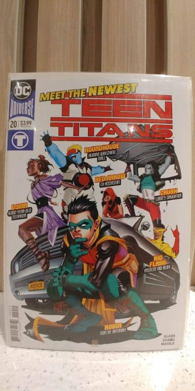 Teen Titans (2016 6th Series) # 20A 1st full appearance of Crush, Lobo's daughter.