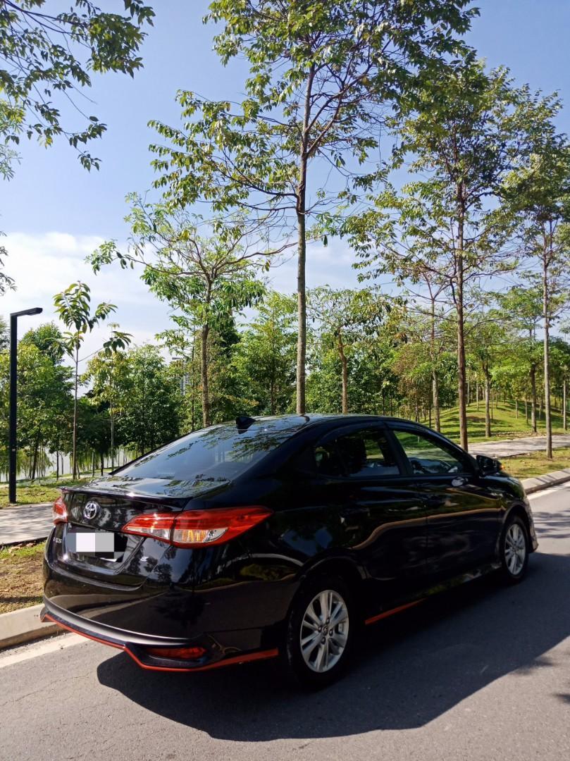Toyota Vios 1.5E (A) Kereta Sewa Murah Selangor KL