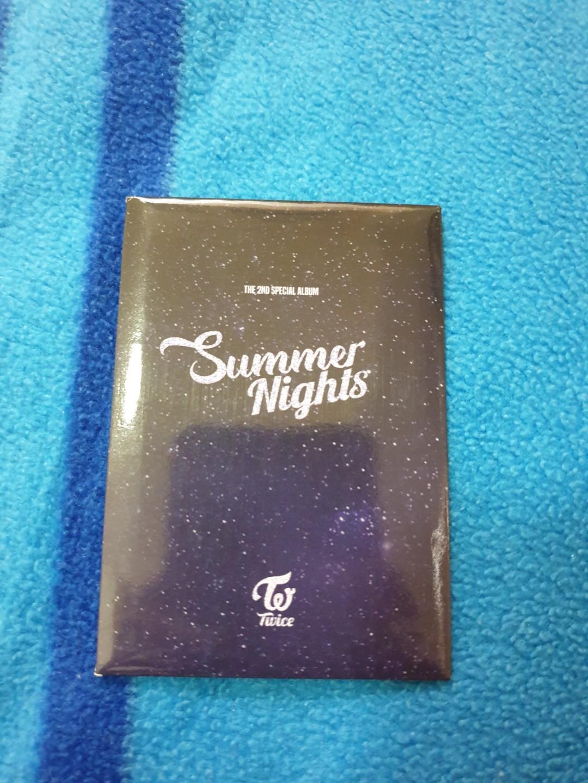 TWICE SUMMER NIGHTS DANCE THE NIGHT AWAY PHOTOCARD SET TYPE C