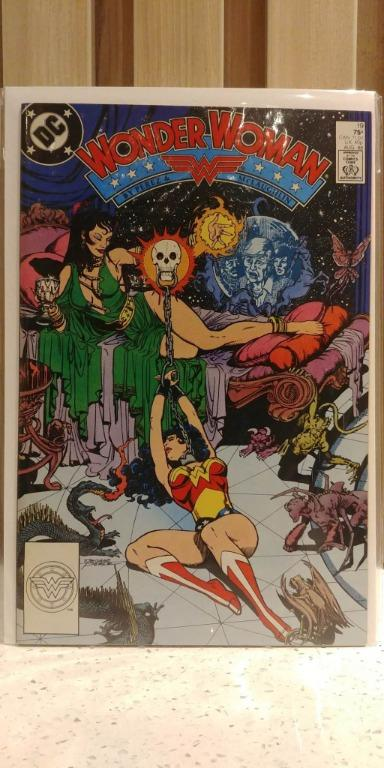 Wonder Woman (1987 2nd Series) #19 GEORGE PEREZ 1st cover and full appearance of Circe