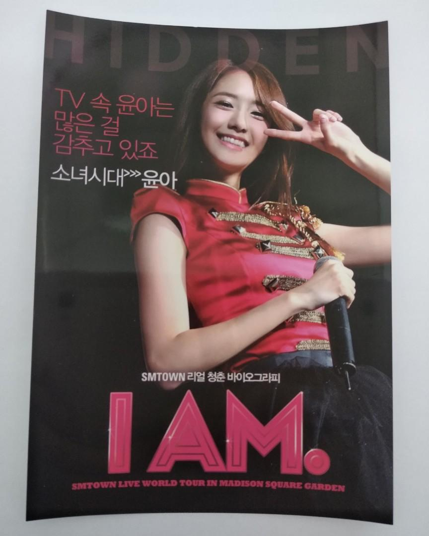 [WTS] OFFICIAL SNSD GIRLS' GENERATION I AM. POSTCARDS