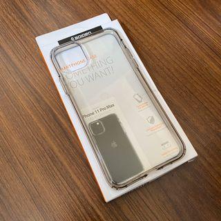 Spigen iPhone 11 Pro Max Liquid Crystal Smoke Black Case