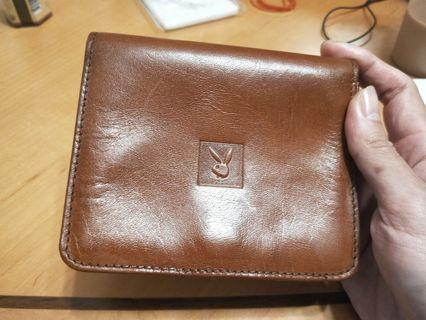 Playboy絕版古董牛皮錢包,收藏良品