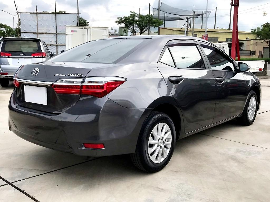 16年 Toyota 豐田 Altis 阿提斯 11.5代 小改款 里程保證 快撥 純跑3萬多 多貸20萬 免保人 增貸