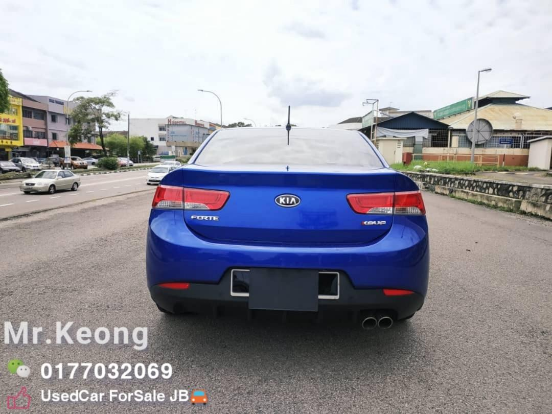 2012TH KIA FORTE KOUP 2.0AT SX TWO DOOR Sunroof SportyCar In Town🚘Cash💲OfferPrice🎉Rm34,800 Only‼LowestPrice InJB 🎉Call📲KeongFor More‼🤗