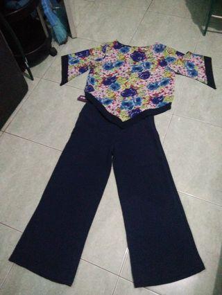 Celana + blouse