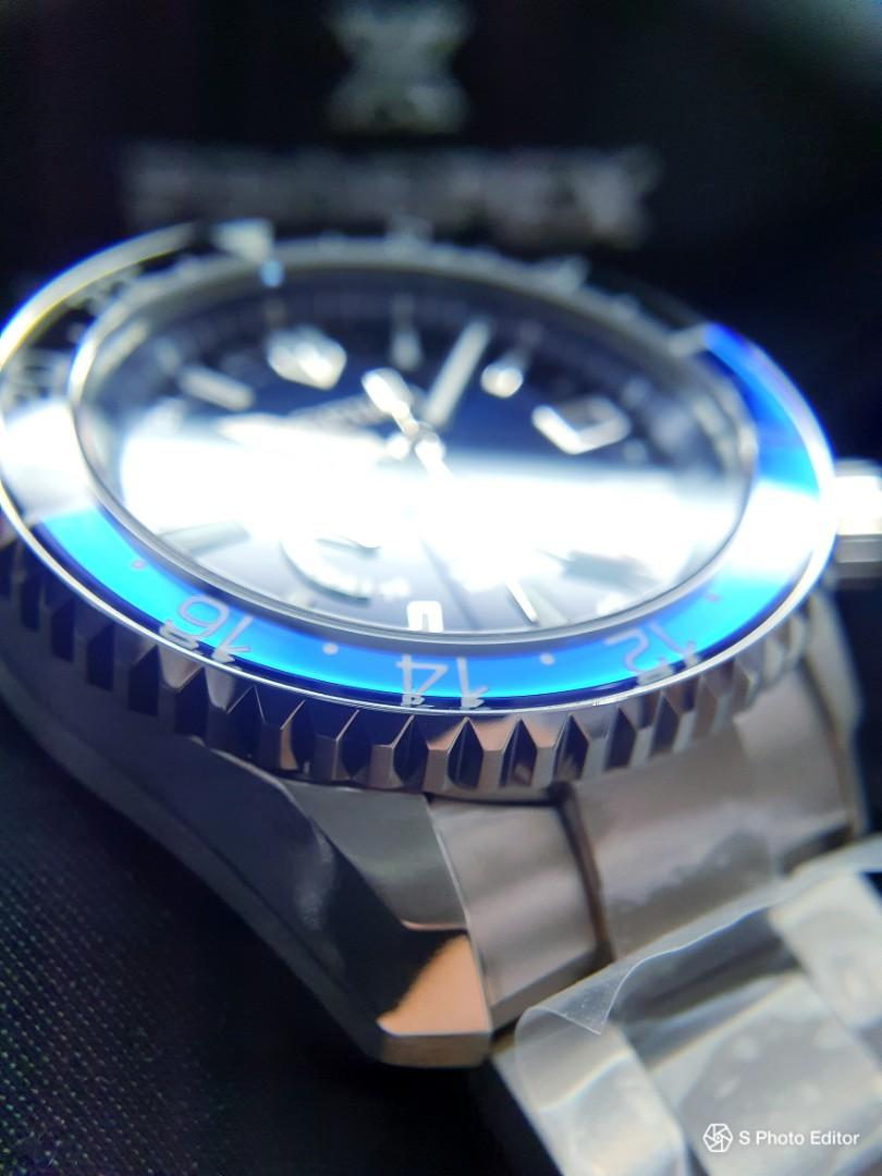* FREE DELIVERY * Brand New 100% Authentic Seiko Prospex LX Batman GMT Master Spring Drive Men's Automatic Watch SNR033 SBDB031