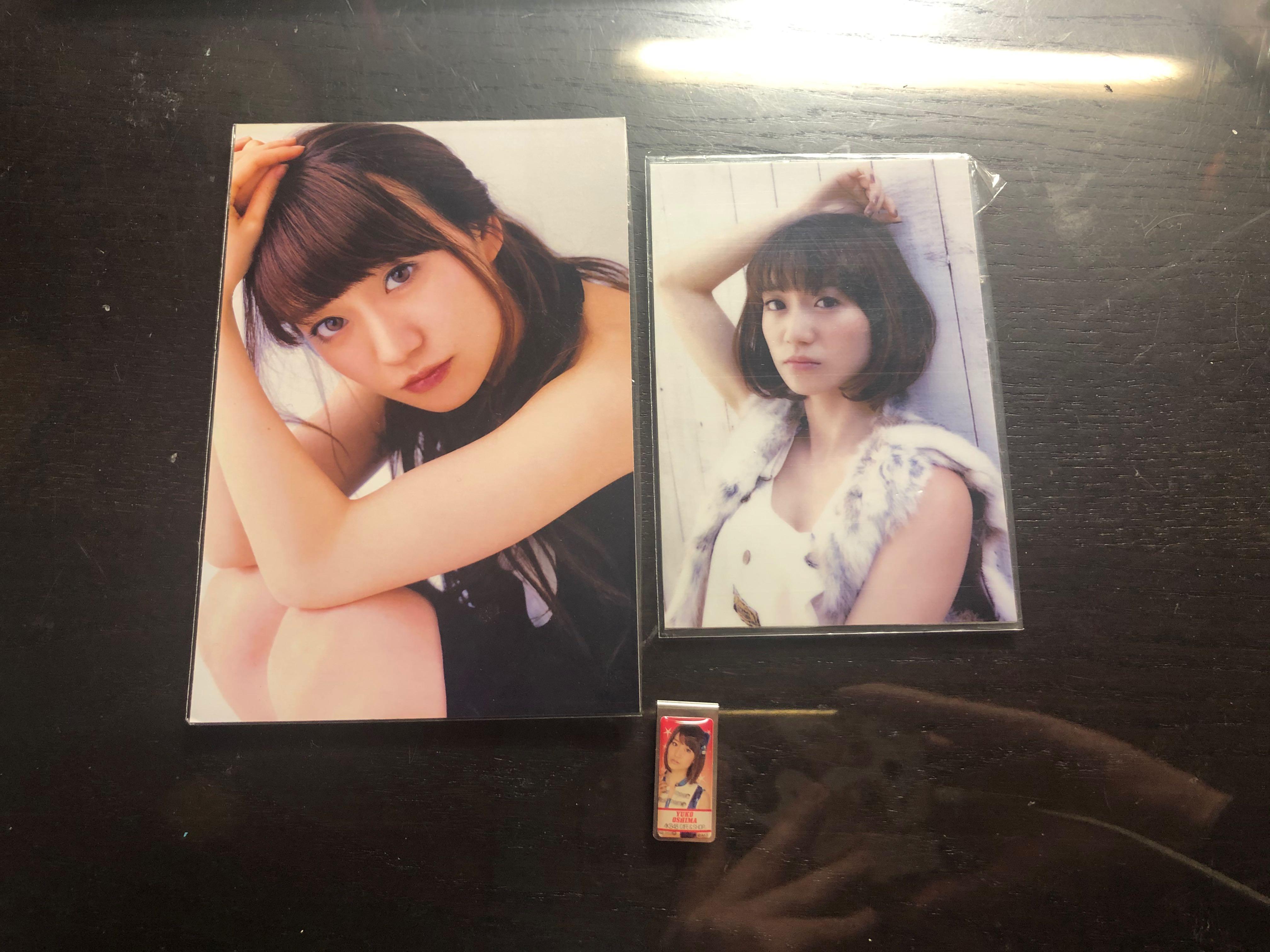 元AKB48 神7大Top 大島優子 香港日本官方限定postcard clip