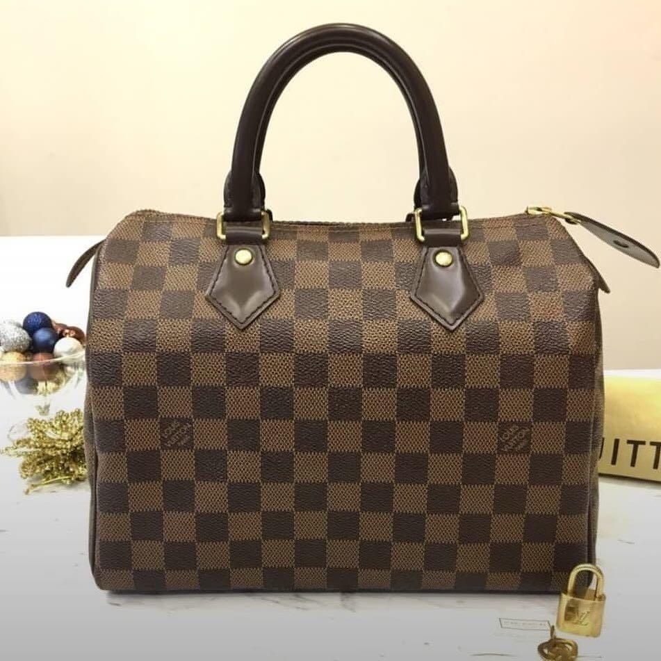 Authentic preloved 💯  Louis Vuitton Speedy 25 Damier Ebene Bag year 2015