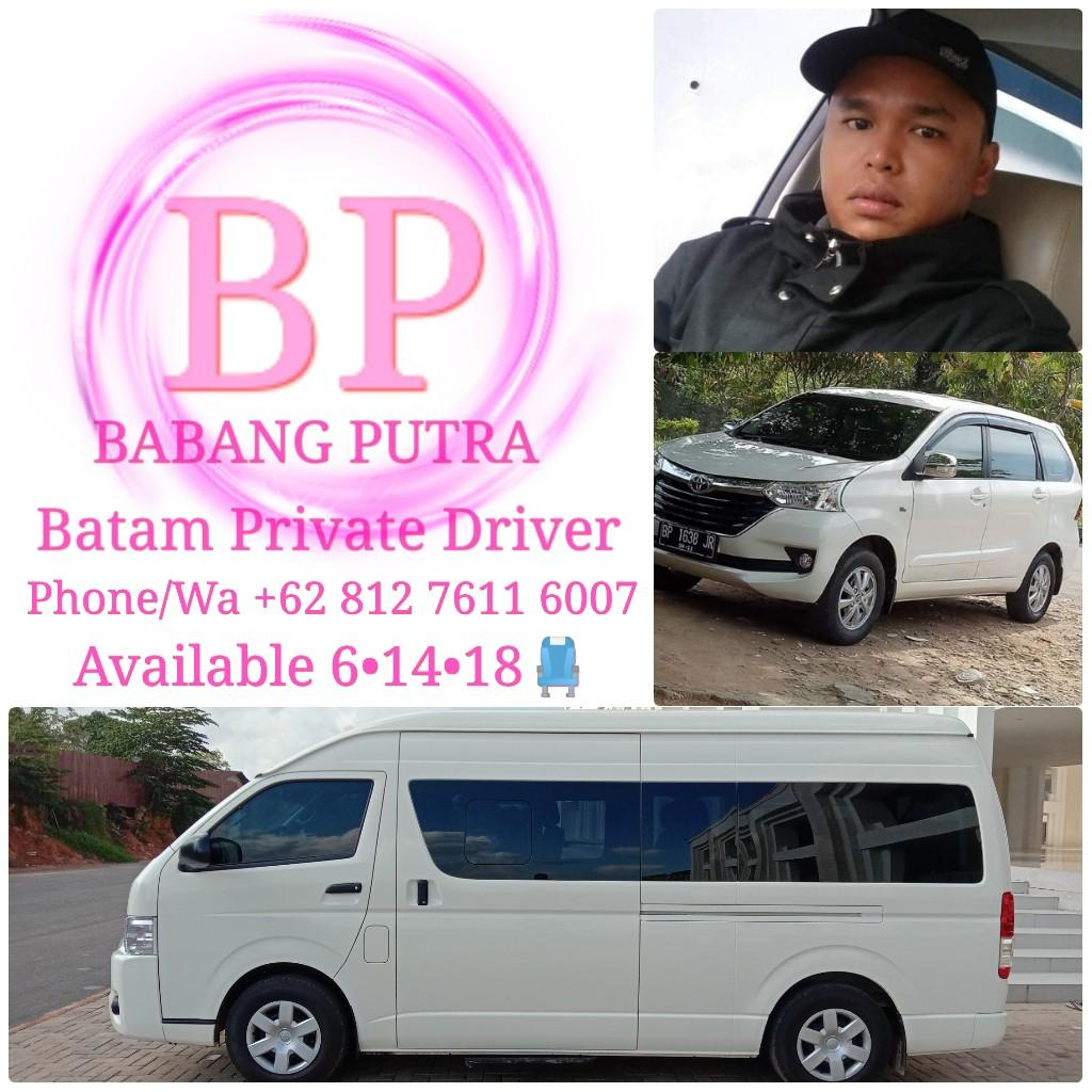 Batam Private Driver      http://www.wasap.my/+6281276116007  #Hello Putra 😉 fast response
