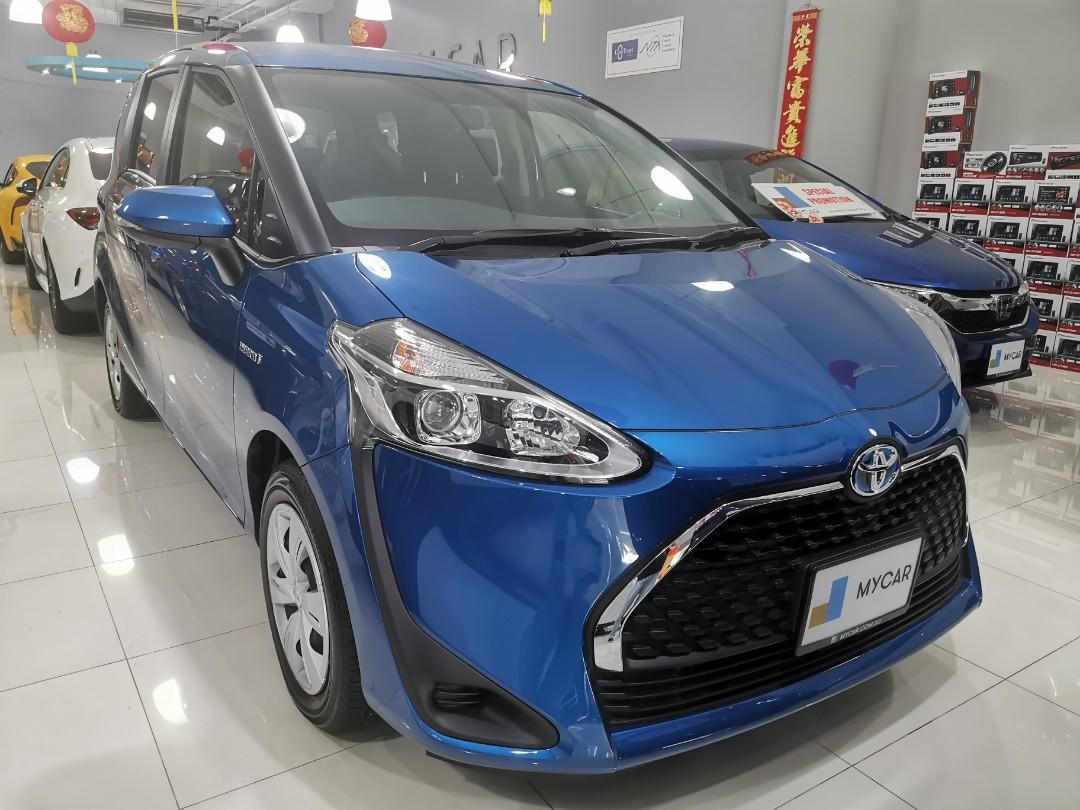 """Brand New Toyota Sienta Hybrid 1.5X for Rental (Click on """"read more"""" for more details)"""