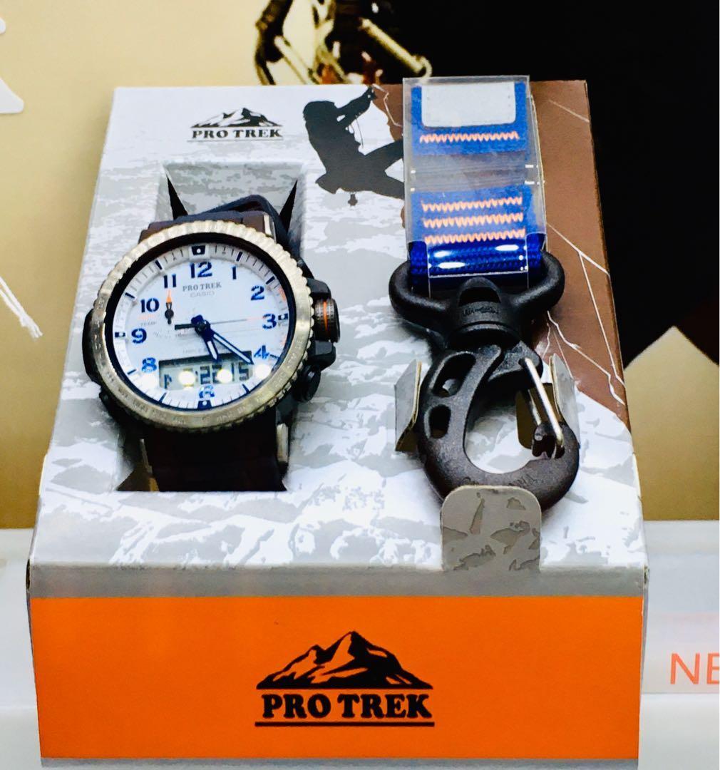 NEW🌟TOUGH CASIO PRO-TREK UNISEX DIVER SPORTS WATCH : 100% ORIGINAL AUTHENTIC PROTREK : By BABY-G-SHOCK ( GSHOCK EDIFICE ) Company : PRW-50YAE-2DR / PRW-50YAE-2 / PRW-50-YAE-2DR