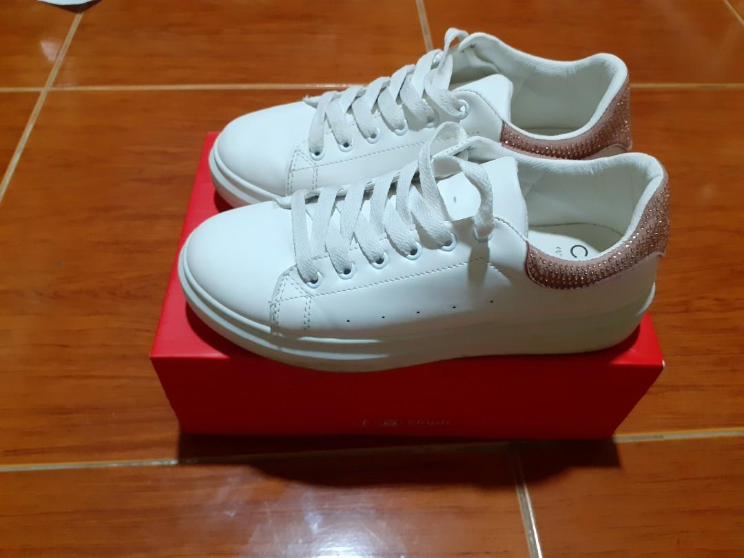 Celine White sneaker Shoes, Women's