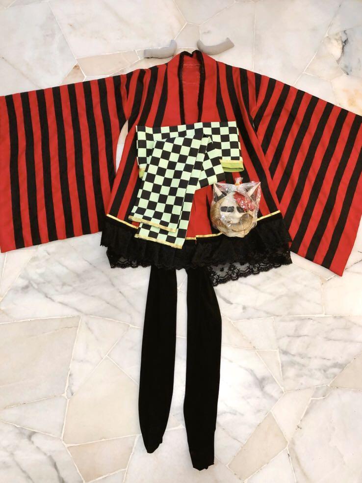 [Cosplay] Ririchiyo Shirakiin (Inu x Boku SS) Kimono Costume + Wig Set
