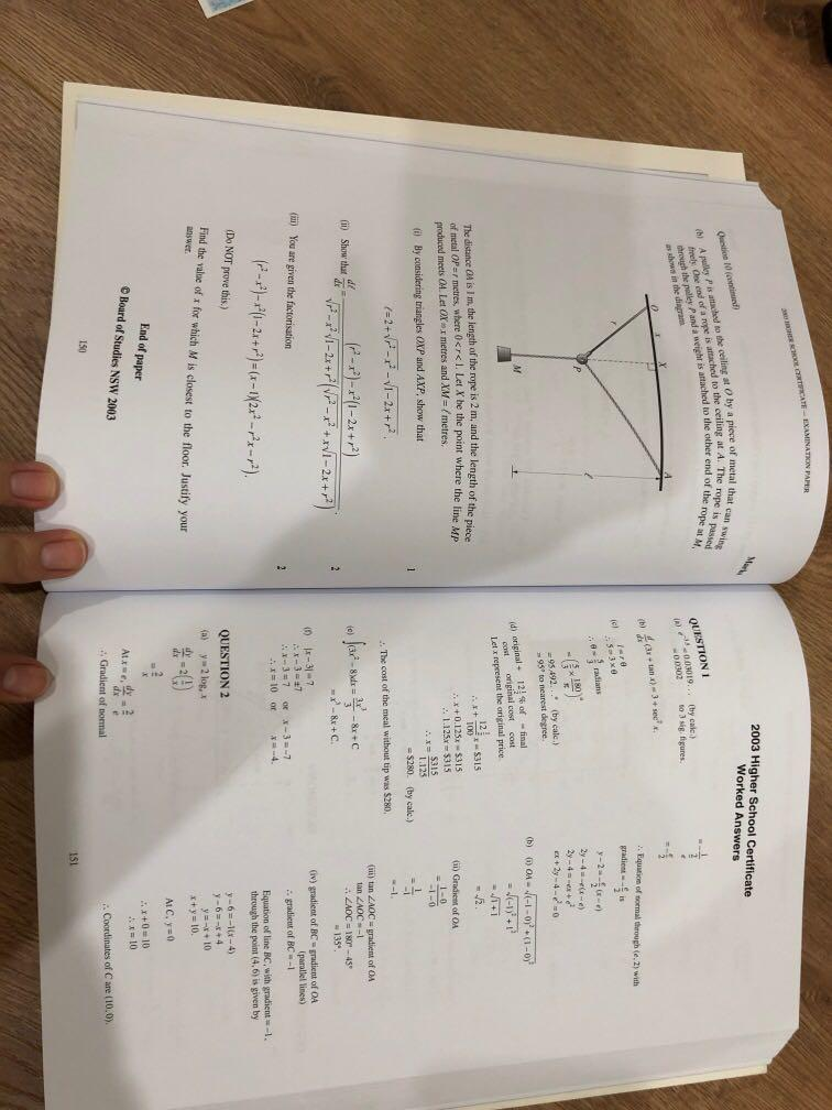 Excel Mathematics past HSC papers and worked answers 2018 edition