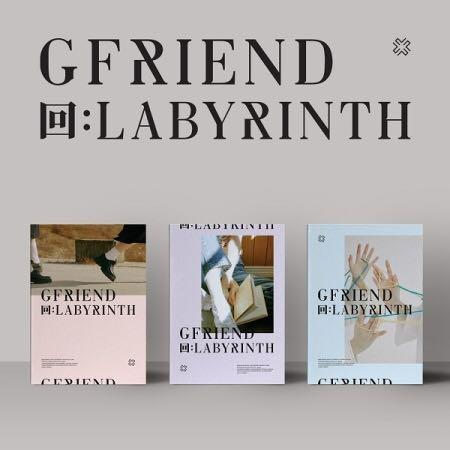 🌺GFRIEND🌺回:LABYRINTH  ✔️Preorder benefits ❄️Buy more than 1 have discount❄️