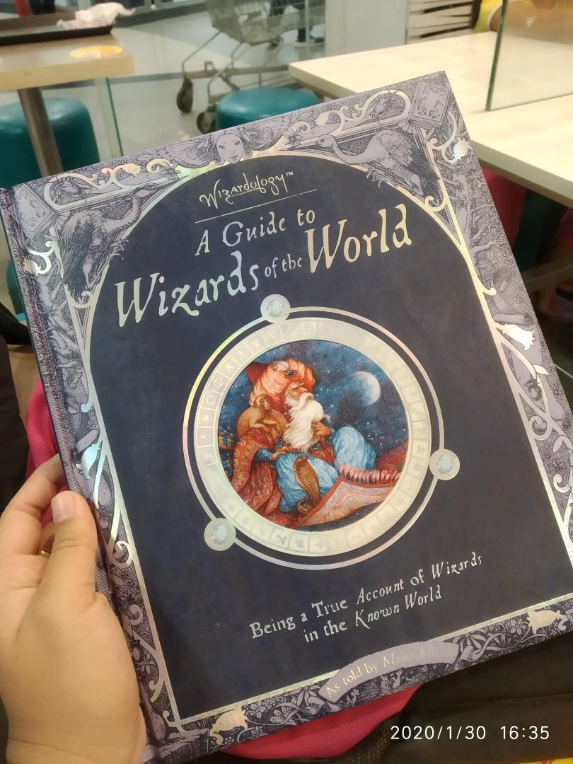 HARDBOUND A Guide to Wizards of the World (Wizardology( as told by Master Merlin