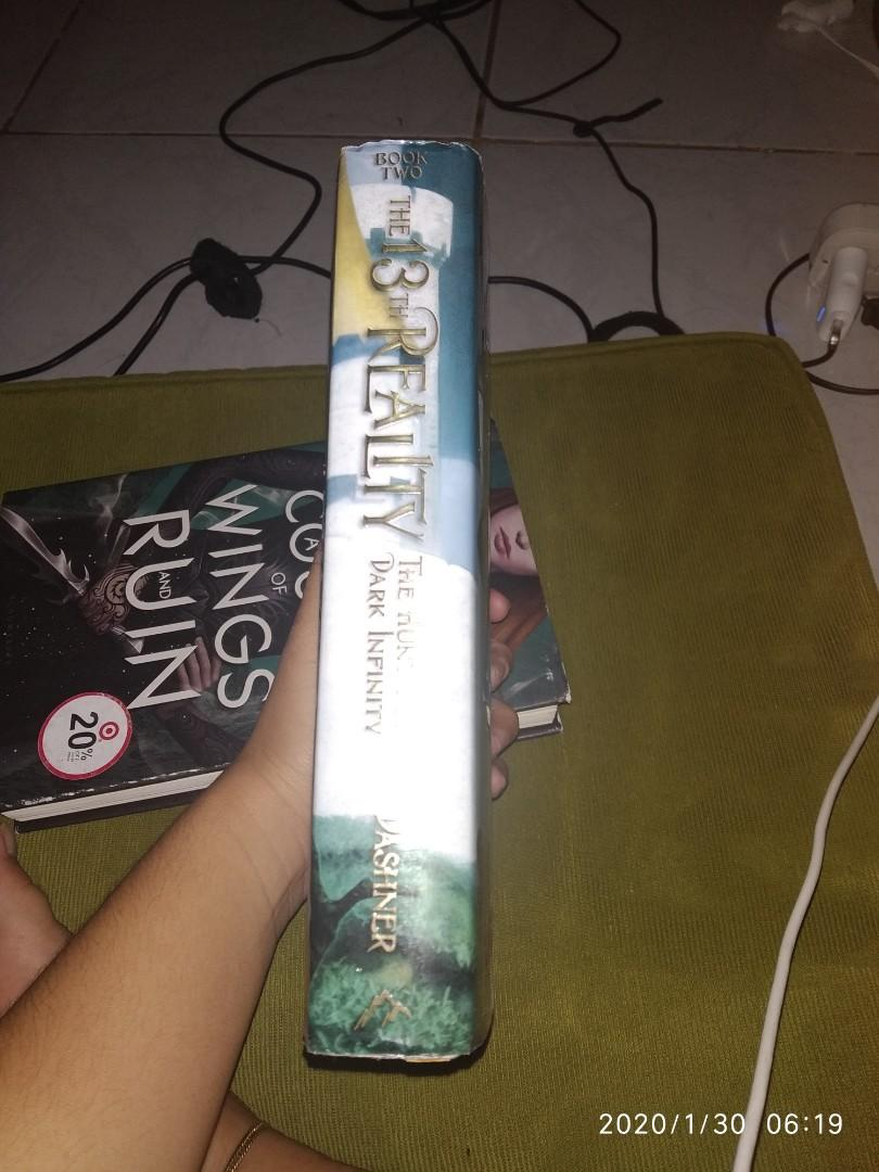HARDBOUND The 13th Reality Book 2 - The Hunt for Dark Infinity by James Dashner