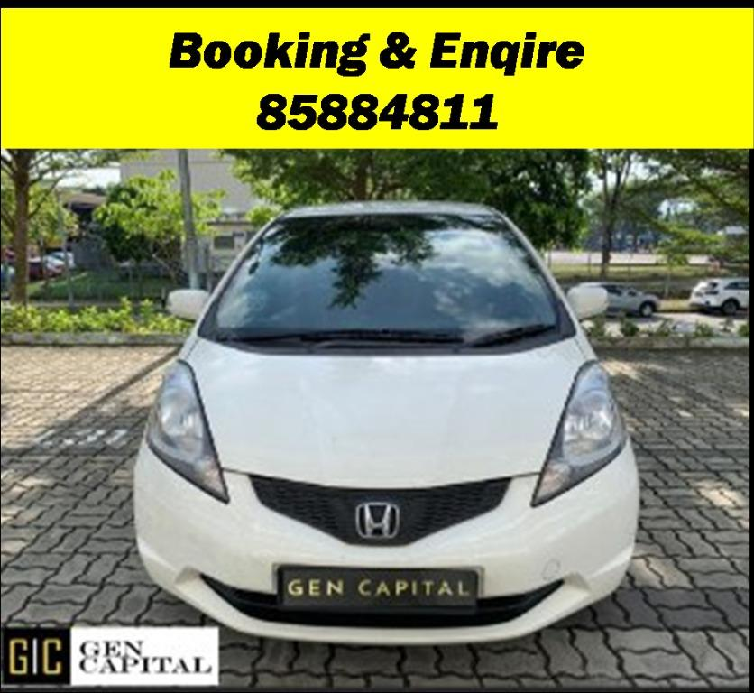 Honda Fit JUST IN!!! Lowest rental rates, fuel efficient & spacious. Hurry whatsapp Edwin @87493898 now to reserve!!!