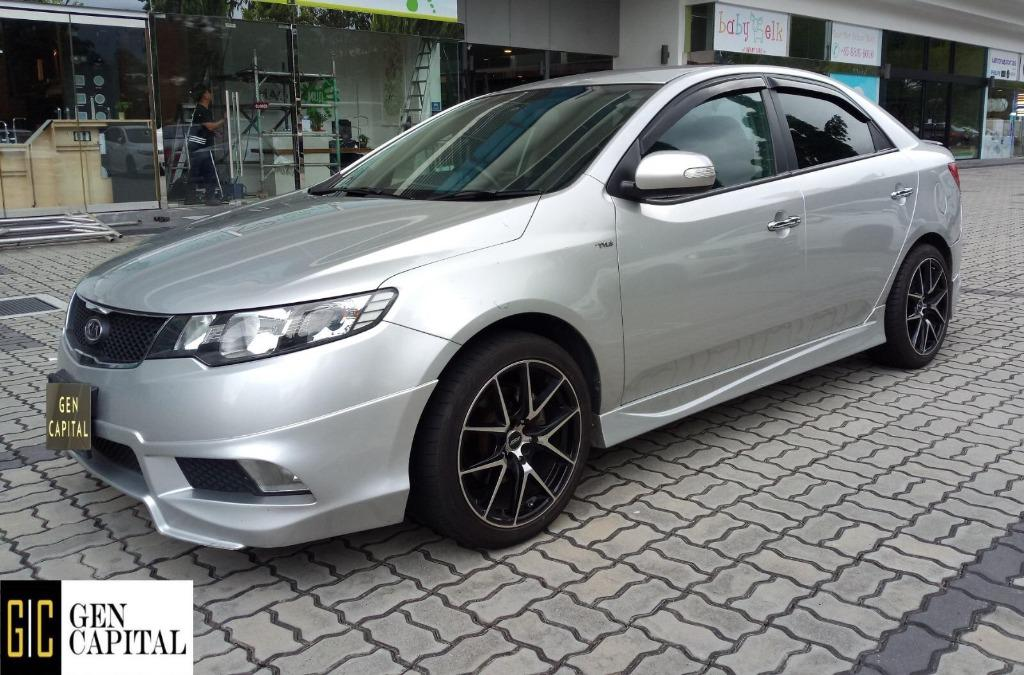 Kia Cerato Forte 1.6 Cheapest rental in town! $500 Deposit driveoff immediately! whatsapp 85884811 now to reserve!!