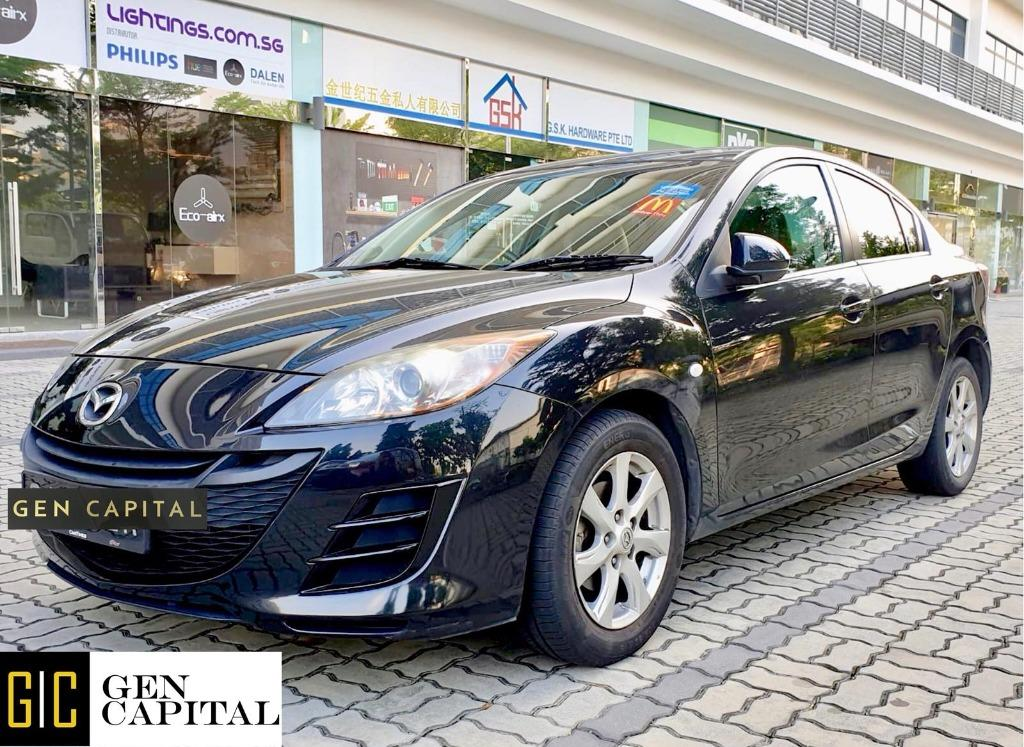 Mazda 3  JUST IN!!! Lowest rental rates, fuel efficient & spacious. Hurry whatsapp Edwin @87493898 now to reserve!!!