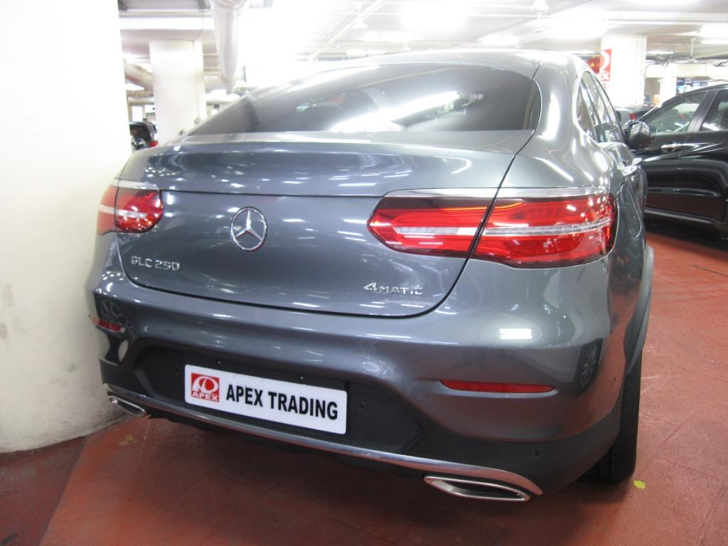 Mercedes-Benz GLC250 4MATIC AMG COUPE