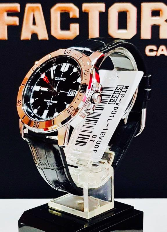 NEW🌟TOUGH CASIO UNISEX DIVER SPORTS WATCH : 100% ORIGINAL AUTHENTIC : By BABY-G-SHOCK ( GSHOCK EDIFICE ) Company : MTP-VD01L-1EV / MTD SEIKO theme