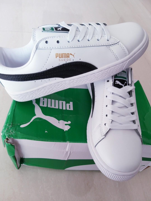 Original Puma Suede Classic + White