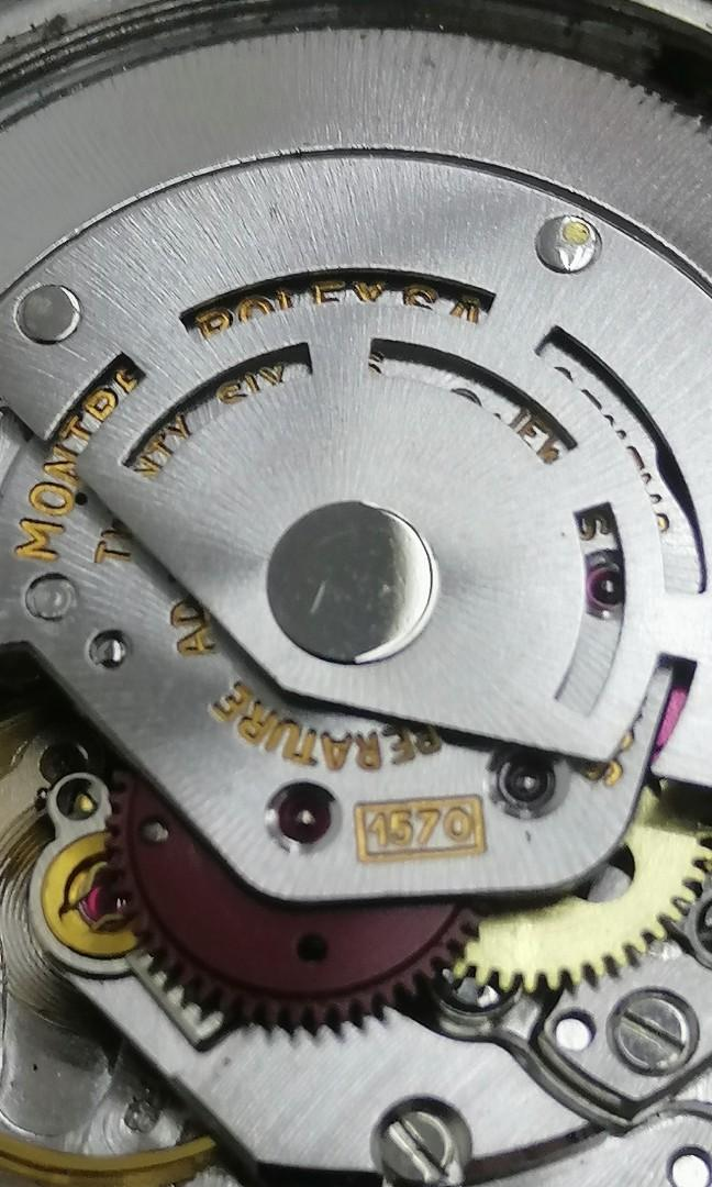 Rolex Datejust 1603 Engine turned Bezel rare 36 mm Automatic