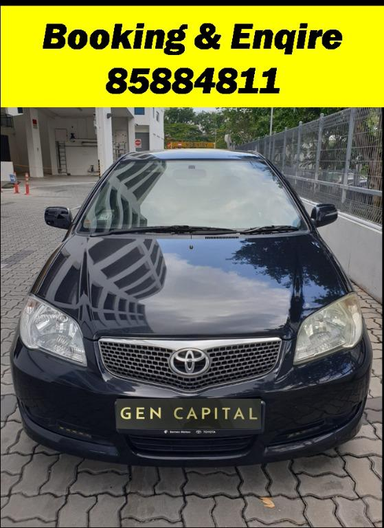 Toyota Vios Manual  JUST IN!!! Lowest rental rates, fuel efficient & spacious. Hurry whatsapp Edwin @87493898 now to reserve!!!