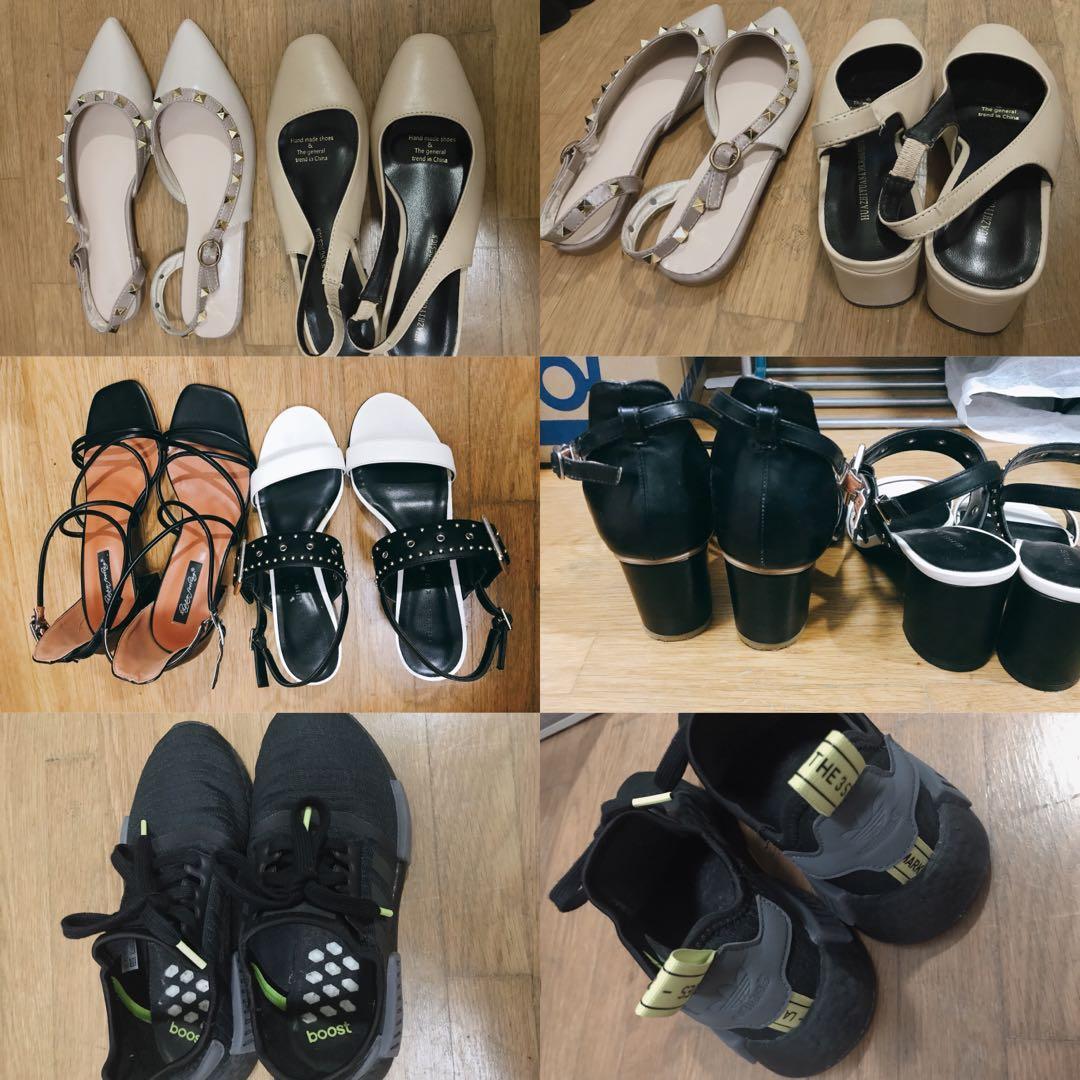 Women shoes flats sandals heels