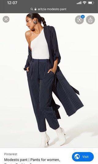 Aritzia Babaton Modesto Pants Size 4