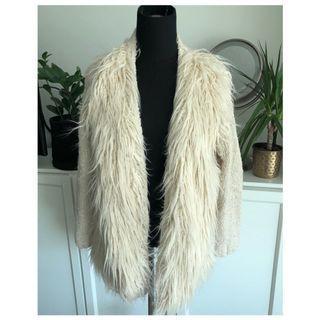 NWOT - Topshop Faux Fur Cardigan