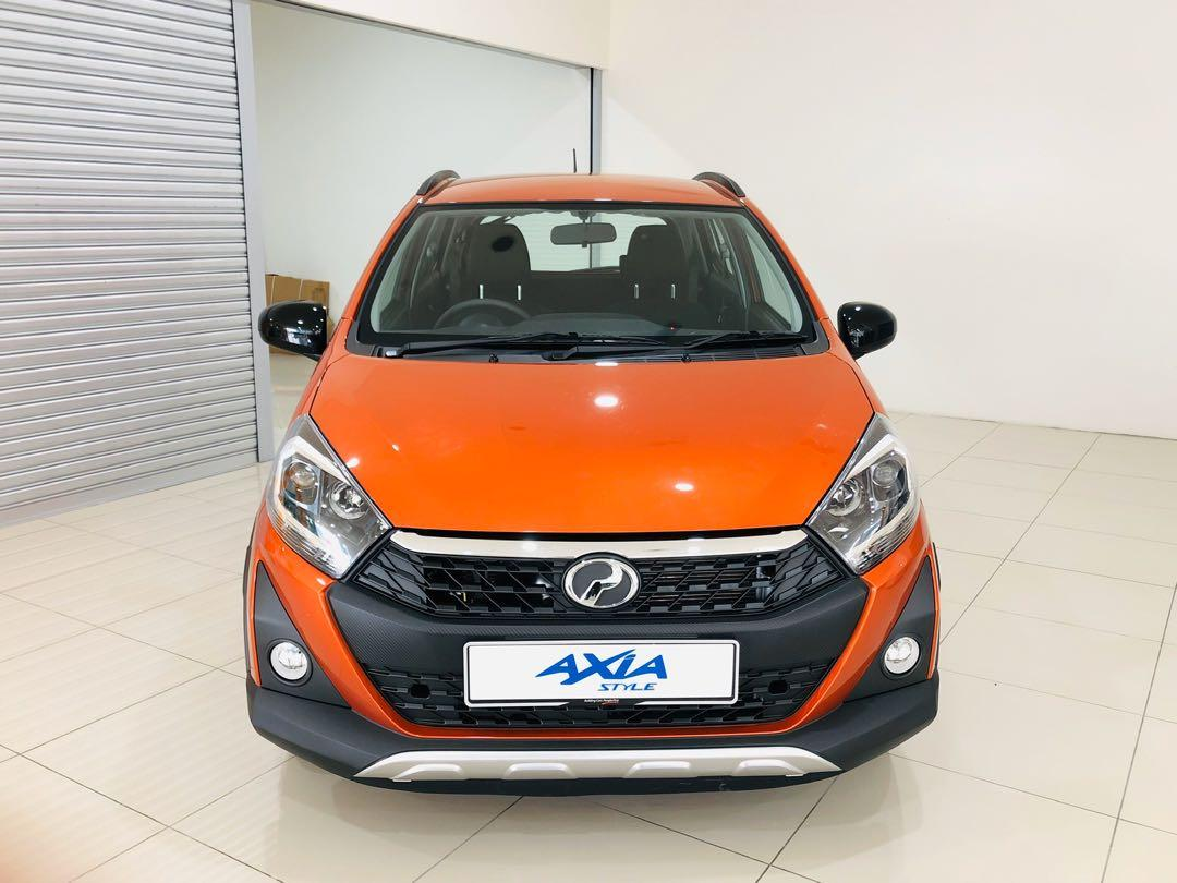 2020 Perodua Axia 1.0 STYLE (A) Sunrise Orange Maximum Loan