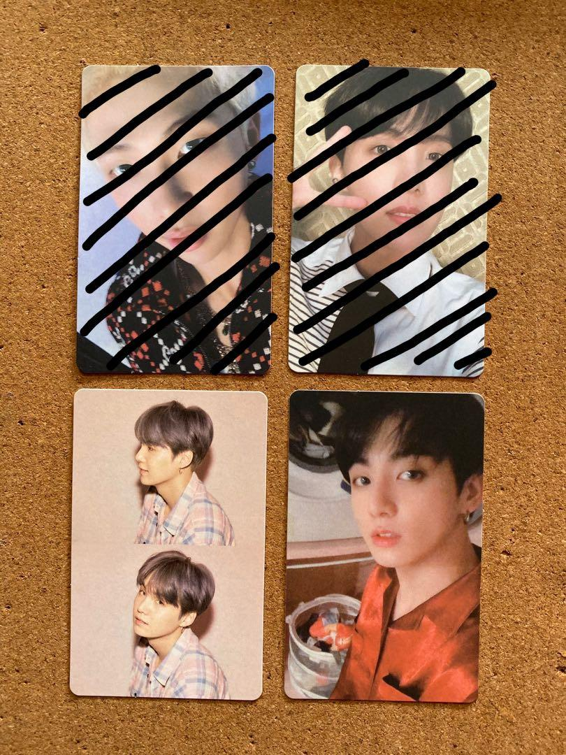 [ WTS ] BTS Map Of The Soul : Persona Photocard [ PC ]