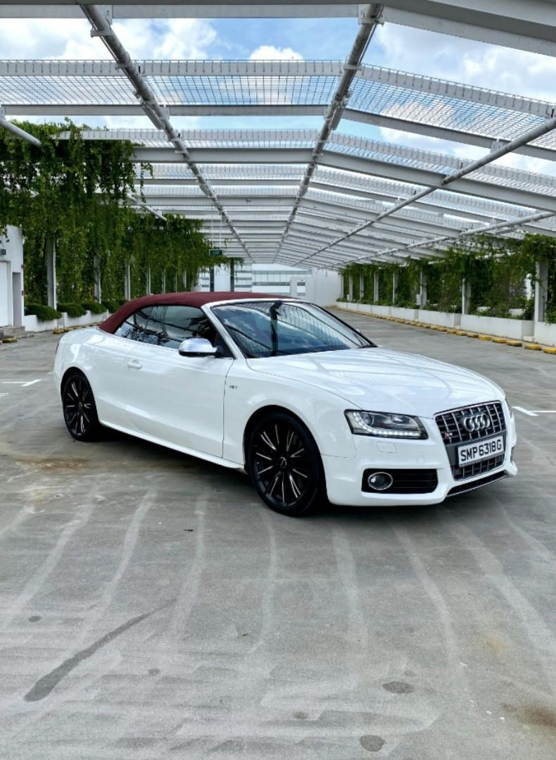 Audi S5 Cabriolet for Wedding (Driver + Photographer)