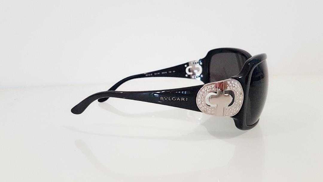 Authentic Bvlgari Sunglasses withSwarovskiCrystals 8013B RP$500