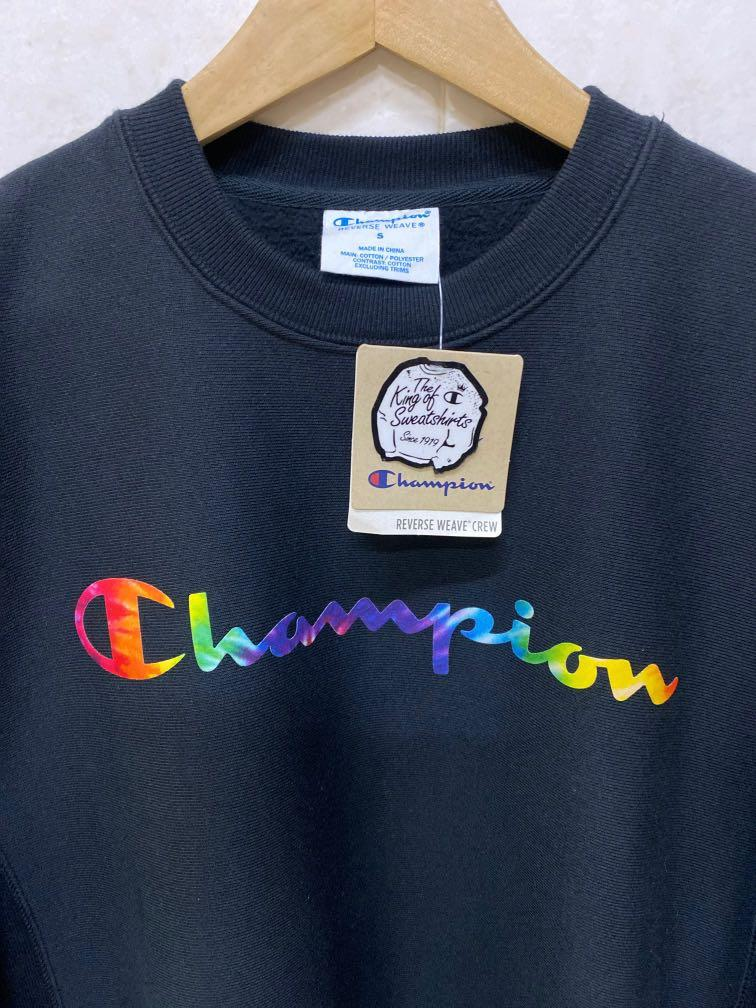 (Authentic) Champion Limited Edition Oversize The King Of Sweatshirts