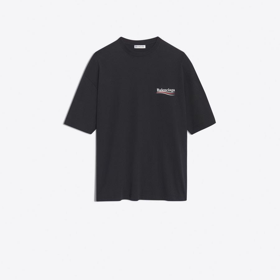 Balenciaga Oversized Tee-Shirt With
