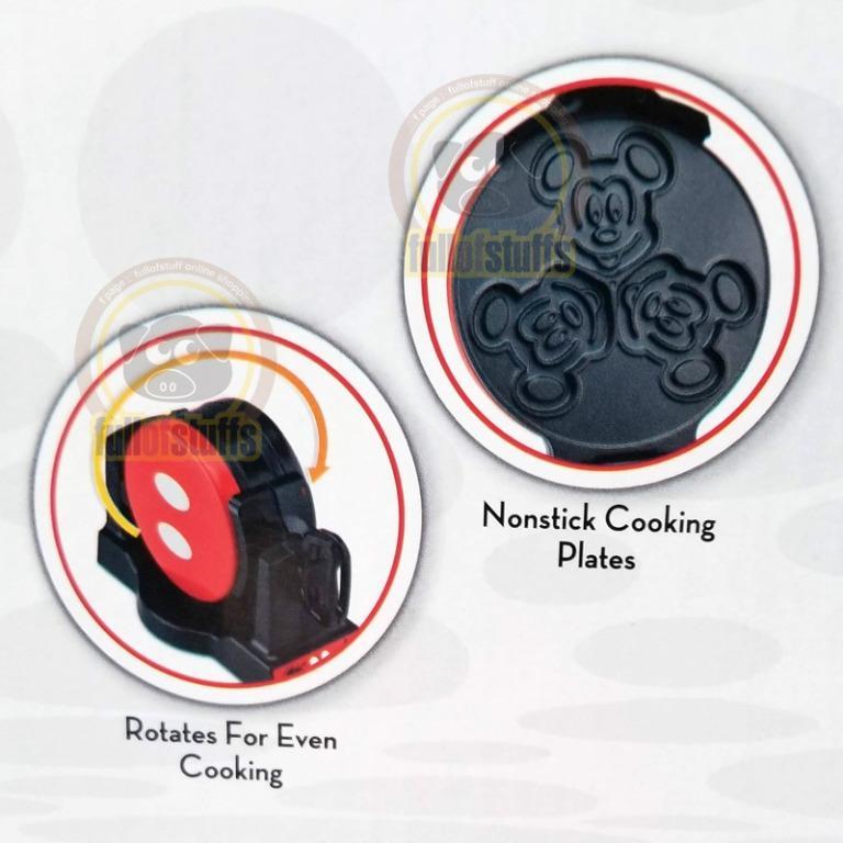 BNIB Disney Mickey Mouse Double Flip Dessert Waffle Maker