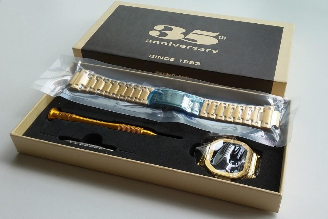 316L STAINLESS STEEL PROTECTIVE CASE AND BRACELET (FULL BOX) FOR G-SHOCK  CASIO DW5600 GW-M5610 GLX5600 GW-5000 5035  DW-5000 (PRICE INCLUDE M0DIFICATION)