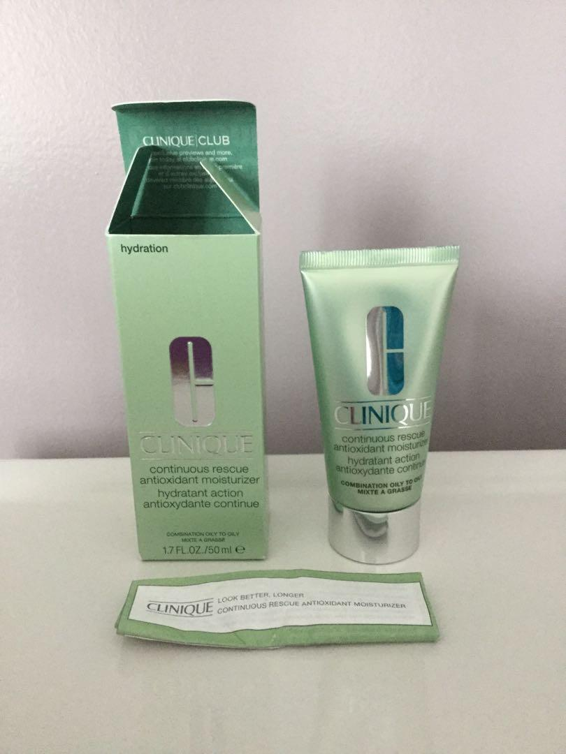 Clinique continuous rescue antioxidant moisturizer 50 ml. New, sealed.
