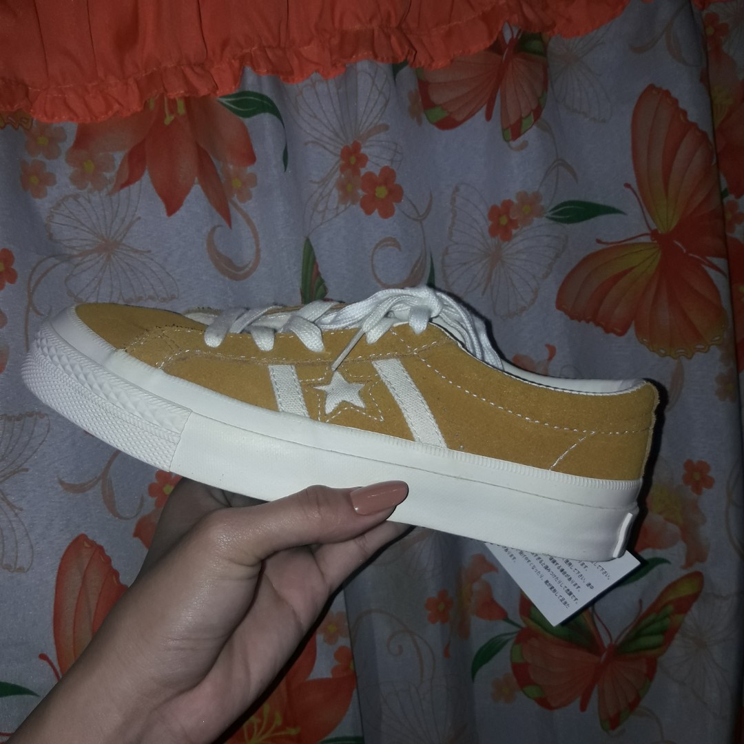 Star Academy OX Suede Shoes (Mustard