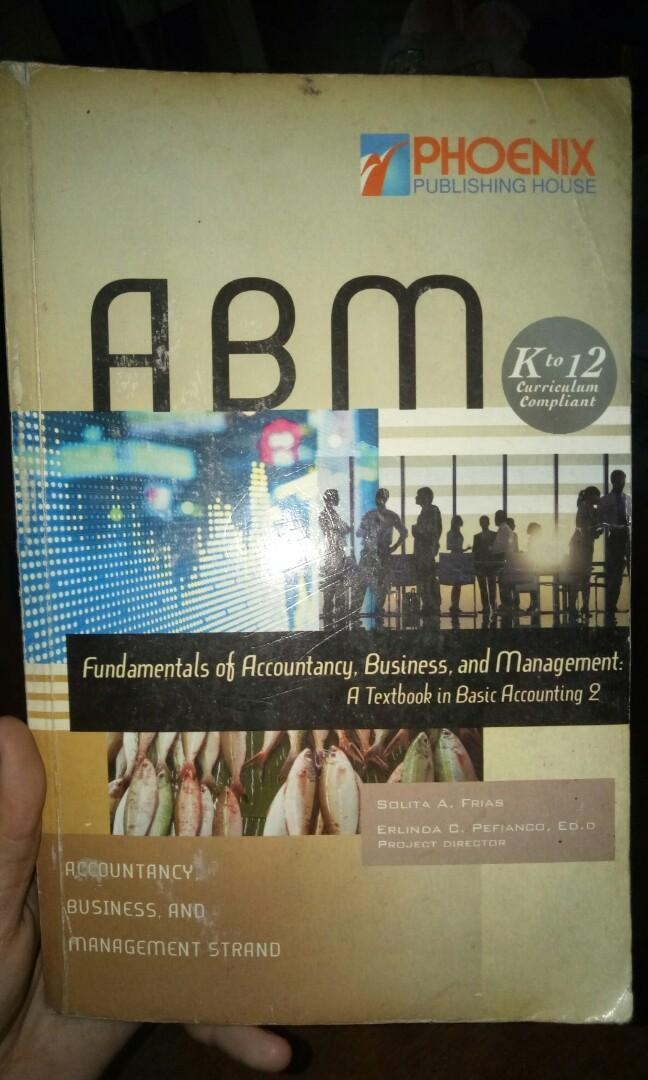 Fundamentals of Accountancy, Business, and Management  ( Textbook in Basic Accounting 2 )