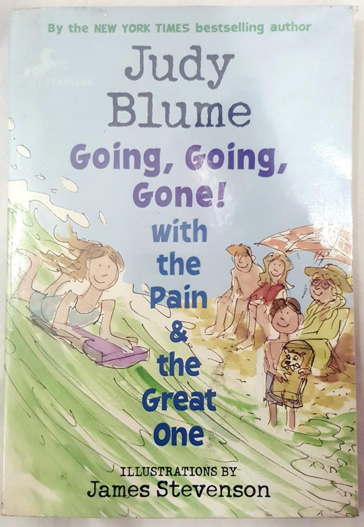 Going, Going Gone! With the Pain and the Great One by Judy Blume