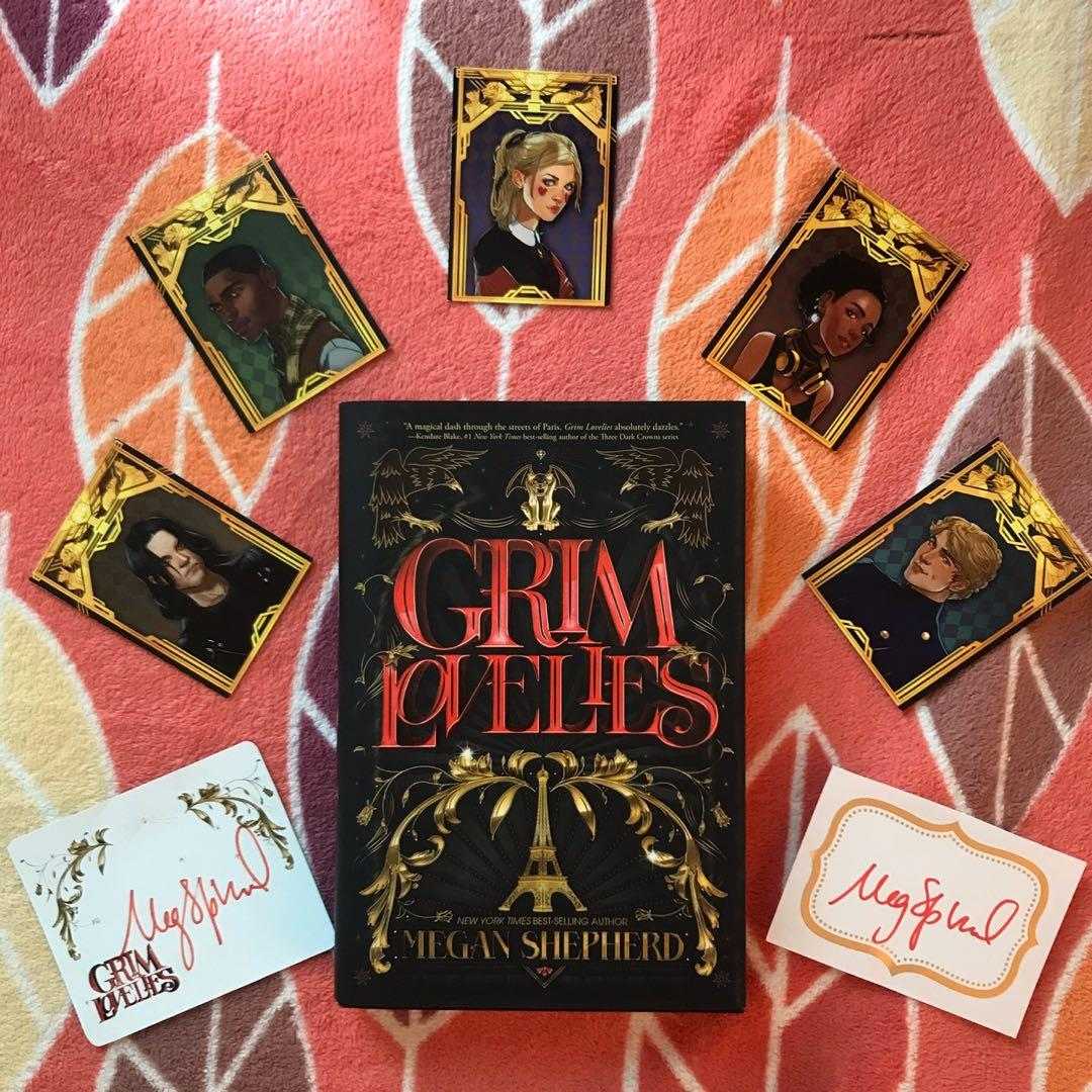 [HARDBOUND] Grim Lovelies - Megan Shepherd w/ Signed Book Plates and Character Cards