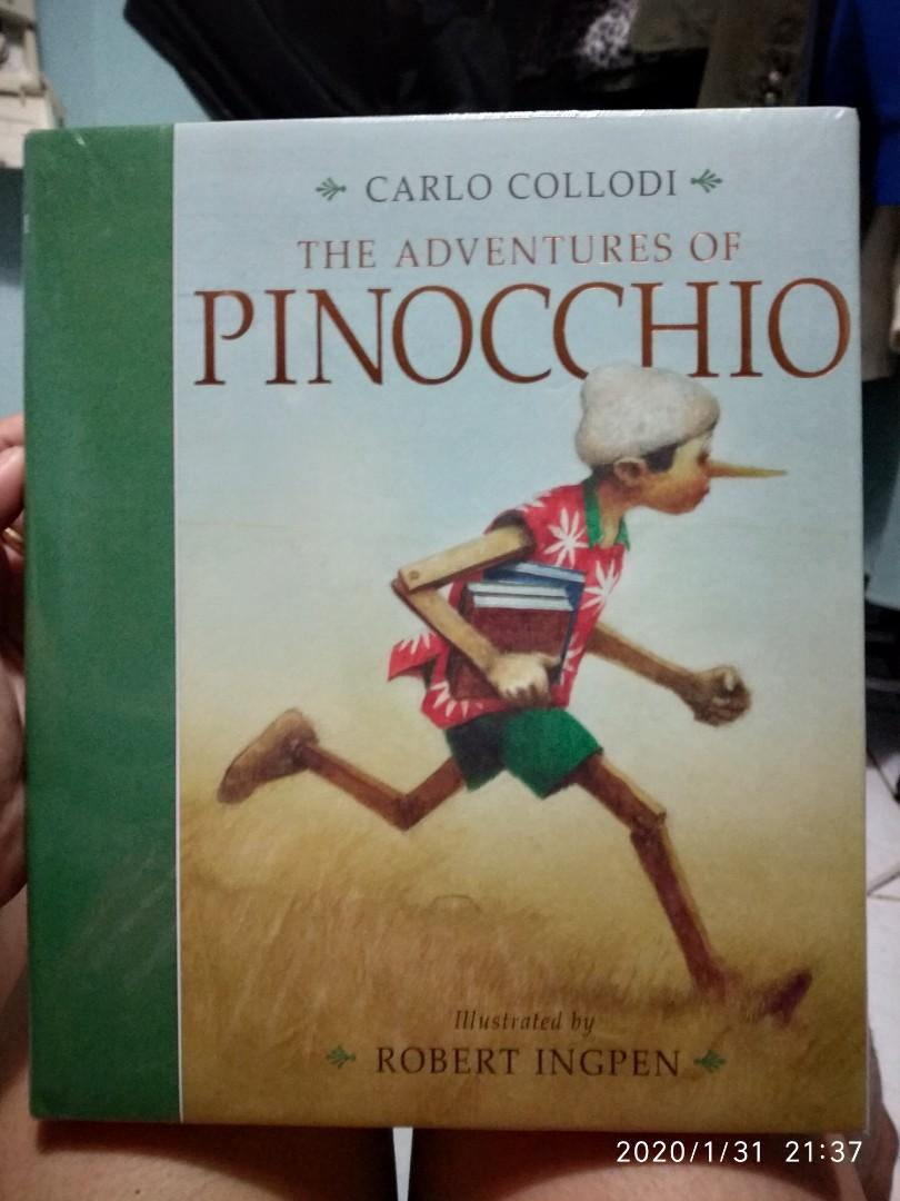 HARDBOUND SEALED The Adventures of Pinocchio by Carlo Collodi / Illustrated by Robert Ingpen